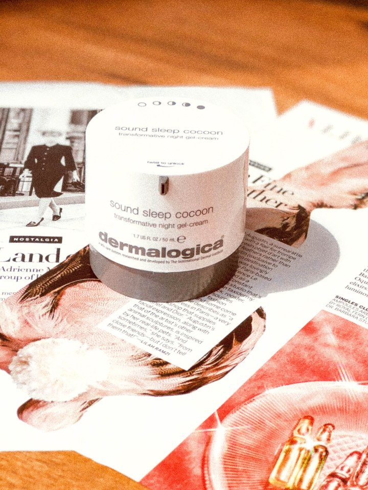 A Love Letter: Dermalogica Sound Sleep Cocoon