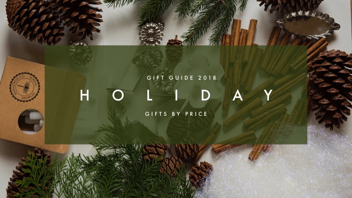 Holiday Gift Guide 2018 Part 1: Gifts By Price